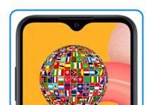 Samsung Galaxy A01 dil değiştirme