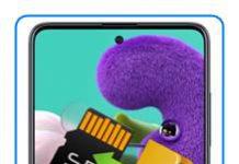Samsung Galaxy A51 dosyaları SD karta taşıma