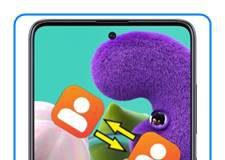 Samsung Galaxy A51 rehberi aktarma