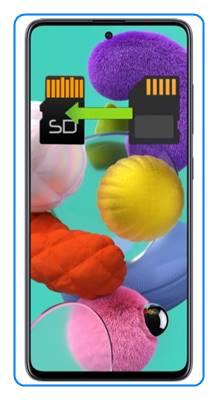 Samsung Galaxy A51 uygulamaları SD kartına taşıma