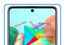 Samsung Galaxy A71 Google Play hataları