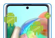 Samsung Galaxy A71 kodlar