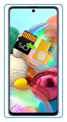 Samsung Galaxy A71 dosyaları SD karta taşıma