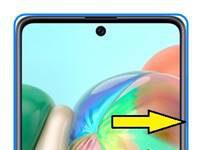 Samsung Galaxy A71 ekran görüntüsü alma
