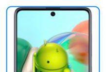 Samsung Galaxy A71 fabrika ayarları sıfırlama