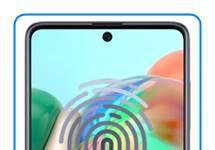 Samsung Galaxy A71 parmak izi ekleme