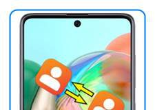 Samsung Galaxy A71 rehberi aktarma