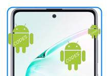Samsung Galaxy Note 10 Lite kodlar