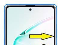 Samsung Galaxy Note 10 Lite ekran görüntüsü alma