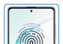 Samsung Galaxy Note 10 Lite parmak izi ekleme
