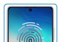 Samsung Galaxy S10 Lite parmak izi ekleme