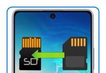 Samsung Galaxy S10 Lite uygulamaları SD kartına taşıma