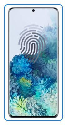Samsung Galaxy S20 Plus parmak izi ekleme