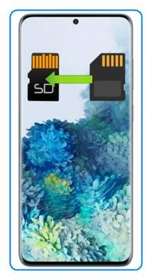 Samsung Galaxy S20 Plus uygulamaları SD kartına taşıma