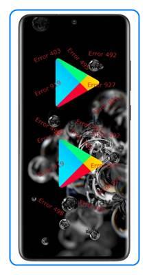 Samsung Galaxy S20 Ultra Google Play hataları