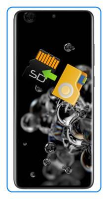 Samsung Galaxy S20 Ultra dosyaları SD karta taşıma