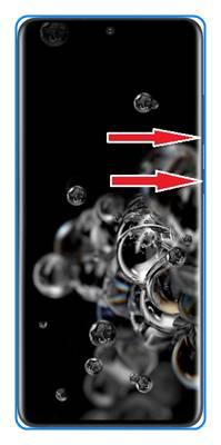 Samsung Galaxy S20 Ultra ekran görüntüsü alma