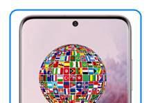 Samsung Galaxy S20 dil değiştirme