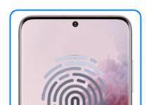 Samsung Galaxy S20 parmak izi ekleme