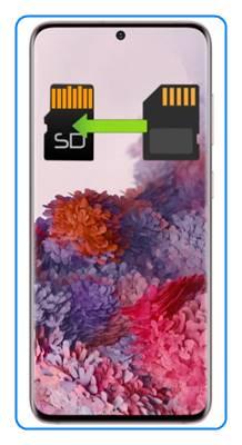 Samsung Galaxy S20 uygulamaları SD kartına taşıma
