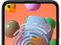 Samsung Galaxy A11 parmak izi ekleme