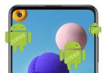 Samsung Galaxy A21s Kodlar