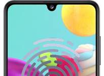Samsung Galaxy A41 parmak izi ekleme