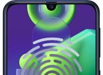 Samsung Galaxy M21 parmak izi ekleme
