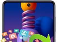 Samsung Galaxy M51 veri yedekleme