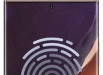 Samsung Galaxy Note 20 Ultra parmak izi ekleme