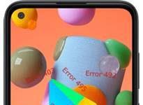 Samsung Galaxy A11 Google Play hataları