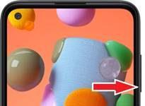 Samsung Galaxy A11 ekran görüntüsü alma
