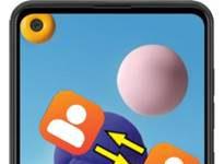 Samsung Galaxy A21 rehberi aktarma