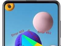 Samsung Galaxy A21s Google Play hataları