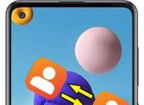 Samsung Galaxy A21s rehberi aktarma