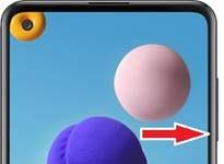 Samsung Galaxy A21s ekran görüntüsü alma