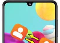Samsung Galaxy A41 Rehberi Aktarma