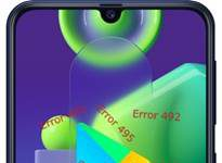 Samsung Galaxy M21 Google Play hataları