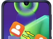 Samsung Galaxy M21 rehberi aktarma