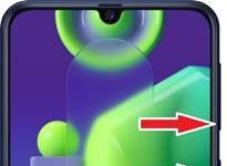 Samsung Galaxy M21 ekran görüntüsü alma