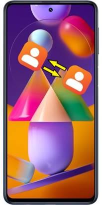 Samsung Galaxy M31s rehberi aktarma