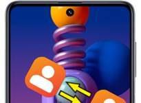 Samsung Galaxy M51 rehberi aktarma