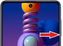 Samsung Galaxy M51 ekran görüntüsü alma