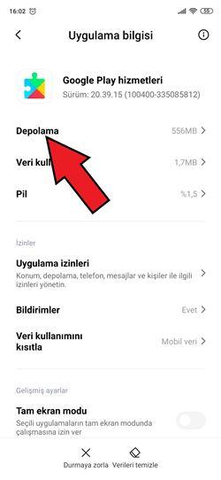 Xiaomi Google Play Hataları