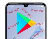 Xiaomi Mi 9 Pro Google Play hataları