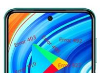 Xiaomi Redmi Note 9 Pro Google Play hataları