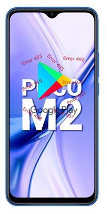 Xiaomi Poco M2 Google Play hataları