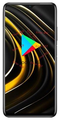 Xiaomi Poco M3 Google Play hataları