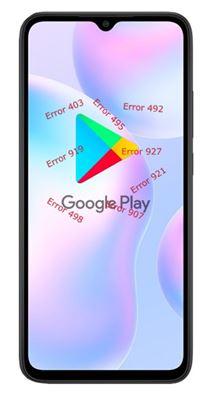 Xiaomi Redmi 9A Google Play hataları