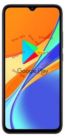 Xiaomi Redmi 9C Google Play hataları